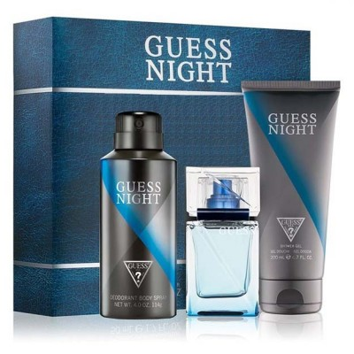 GUESS Night M Edt 100ml+S...